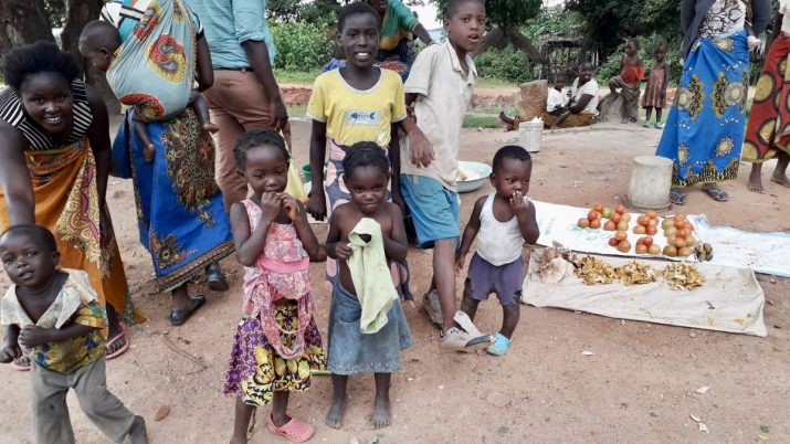 These kids live in a traditional village, their mothers make money selling tomatoes and mushrooms (in season) at the roadside. Happy, but very poor.